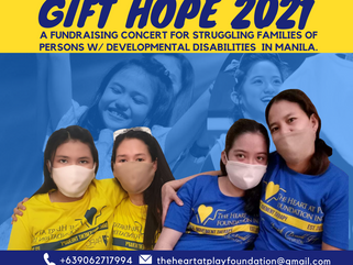 Give the Gift of Hope this April 25 through THP's Virtual Fundraising Concert.