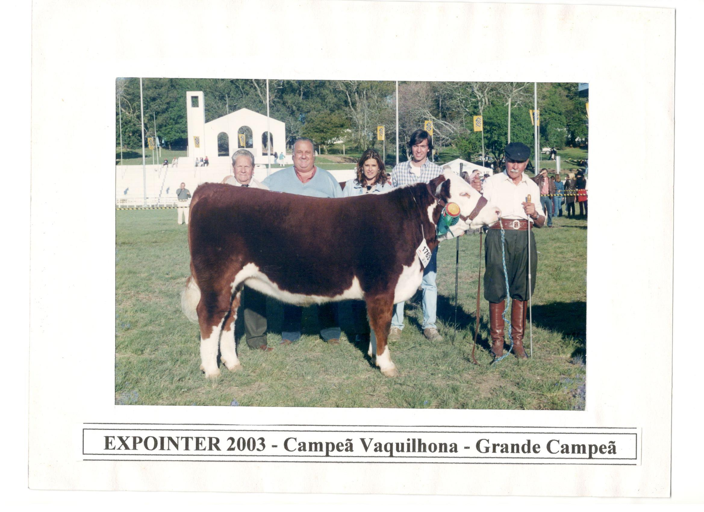 EXPOINTER_2003_-_CAMPEÃ_VAQUILHONA_-_GRANDE_CAMPEÃ