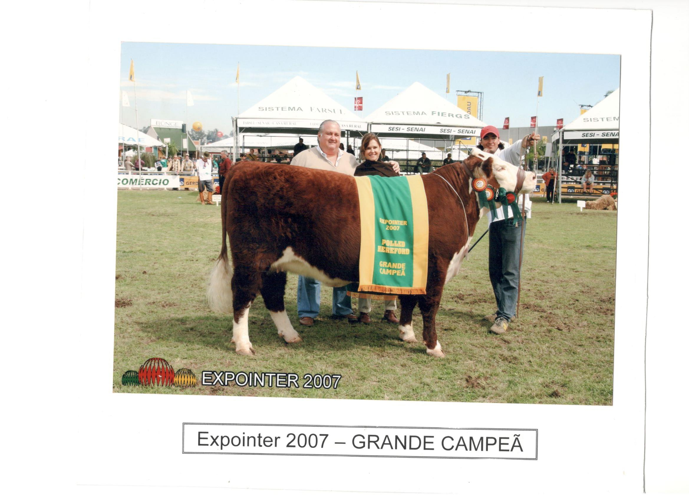 EXPOINTER_2007_-_GRANDE_CAMPEÃ