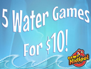 5 Water Games For $10!