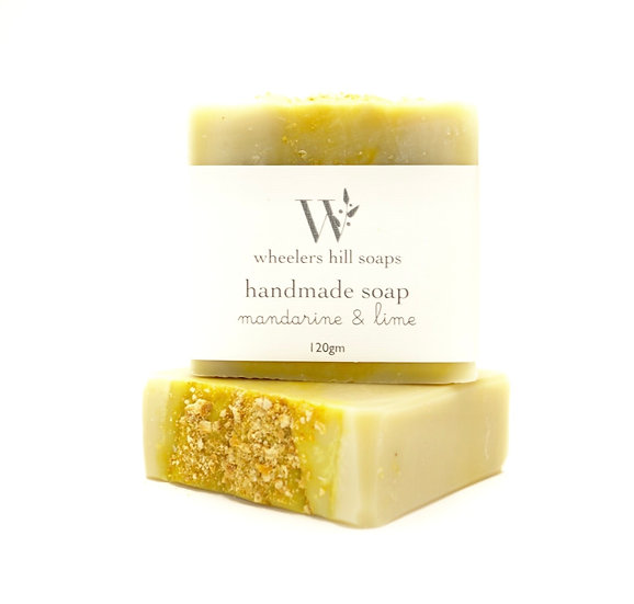 MANDARIN & LIME SOAP