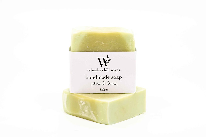PINE AND LIME SOAP