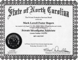Associate Certificate