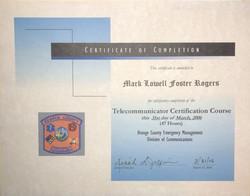 EMD Certification