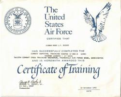 Air Force Survival School