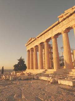 Bardzo rzadki widok - Akropol bez ludzi!