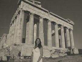 Retro pocztówka z Grecji...