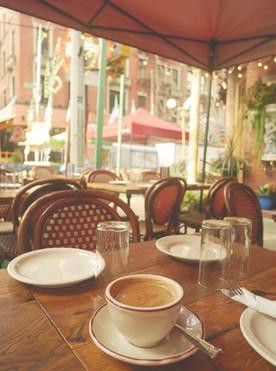 Pierwsza kawa na Manhattanie!