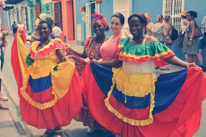 Jakoś blado wypadam przy Kolumbijkach _D