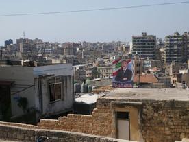 Plakaty wyborcze w Libanie