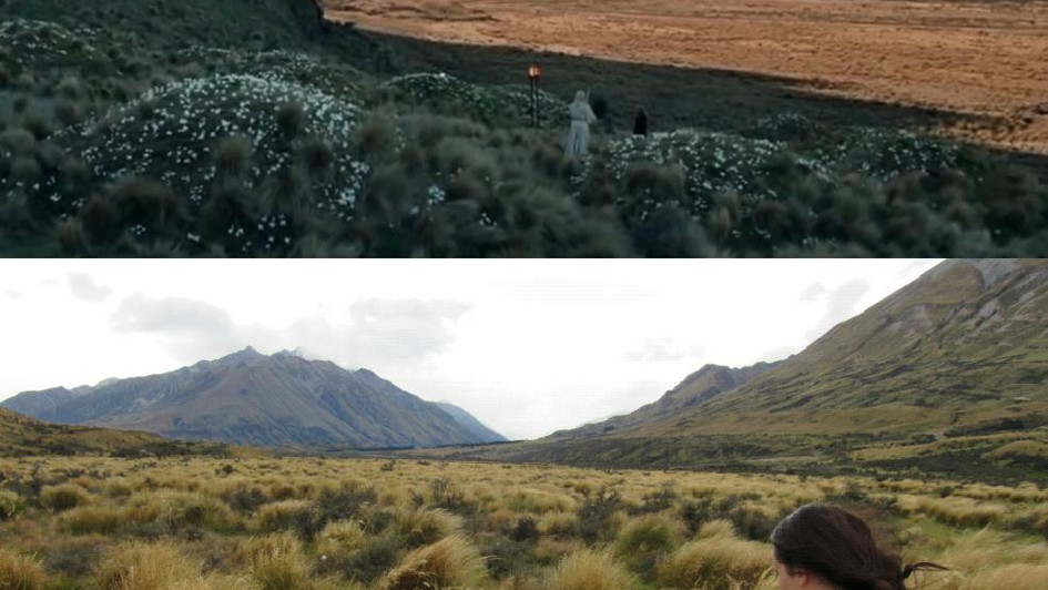 Mount Sunday AKA Edoras