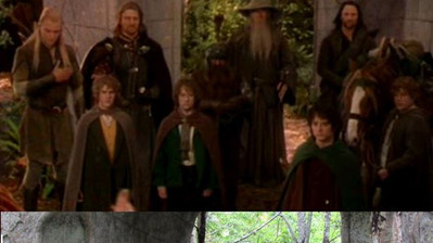 Tak, założyłam uszy elfa w Rivendell _D.