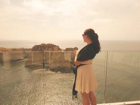 Najsłynniejsze miejsce w Bejrucie - piękne skały.