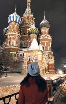 Plac Czerwony, Moskwa, XII.'18