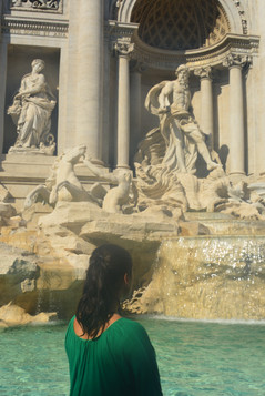 Di Trevi, Rzym, IX.'18