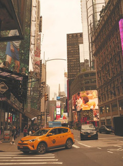 Streets of New York...