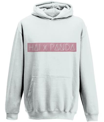 Pink Banner Hoodie