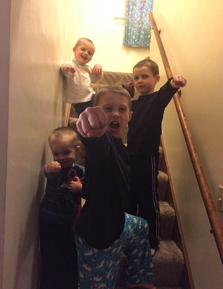 Sarah's Little Superheroes