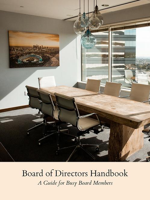 Board of Directors Handbook