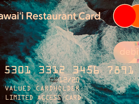 Statement by House Majority Leader Della Au Belatti on New Hawai'i Restaurant Debit Card Program