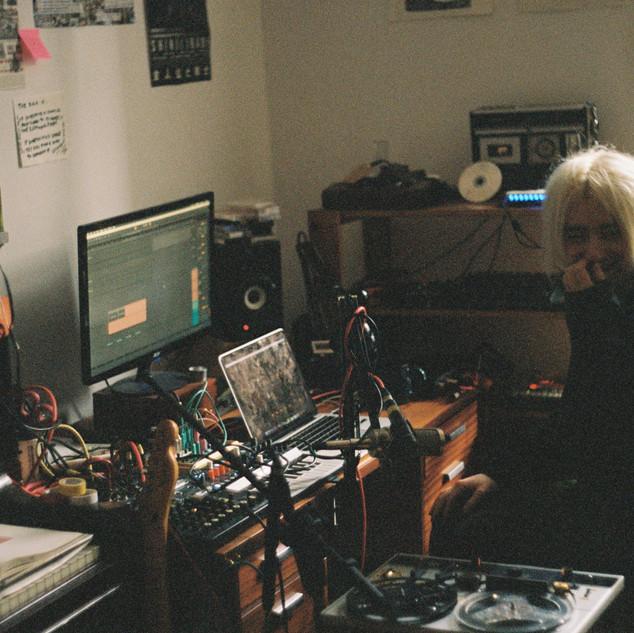 Jacob in his studio