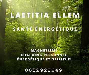 laetitia ellem magnétisme méditation énergétienne