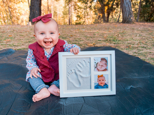 Baby Handprint & Footprint Frame Kit | WAVHELLO FIRST IMPRESSIONS STEP BY STEP TUTORIAL