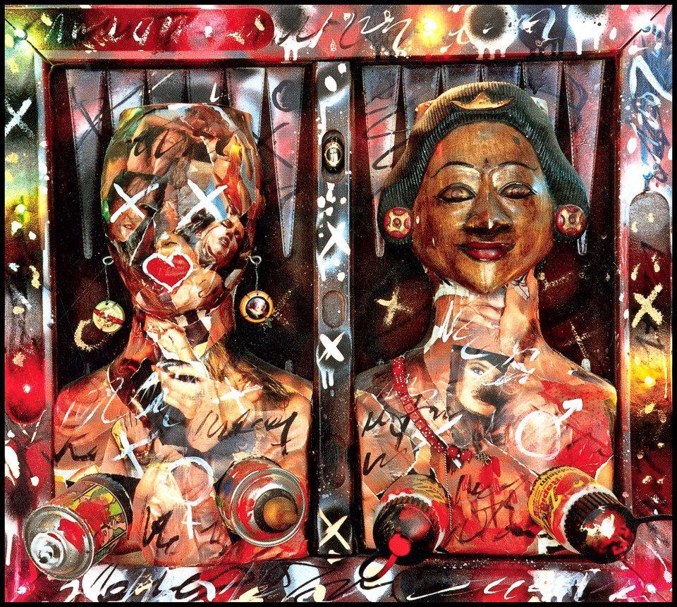 Femme à 2 visages