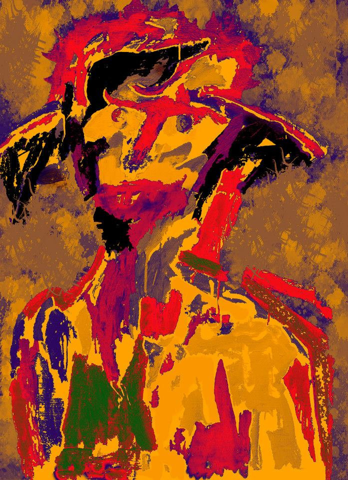Autoportrait avec chapeau 1
