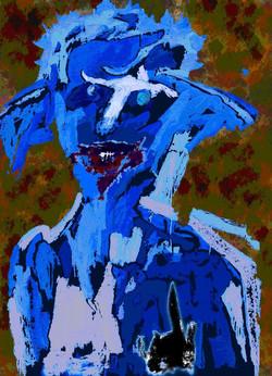 Autoportrait avec chapeau 3