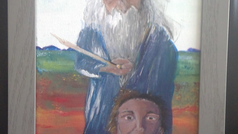 Abraham Sacrificing His Son Isaac