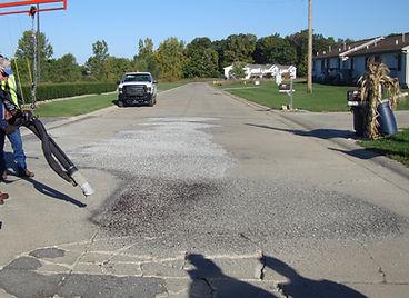 concrete pothole repair