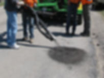 spray pothole repair