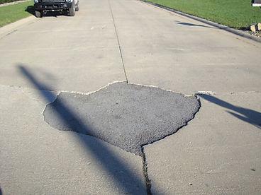Concrete road repair
