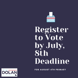 July 8th: Voter Registration Deadline