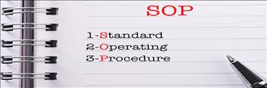 MECFA Standard Operating  Procedure