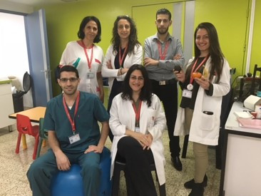 Caritas Baby Hospital CF Care team