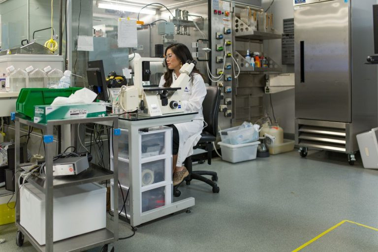 "Vertex's ""Cell Daycare,"" where cells isolated from human lungs are stored and developed."