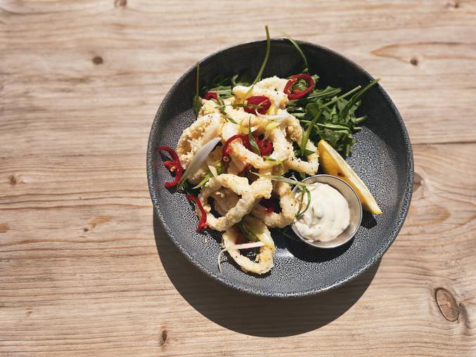 Szechuan Peppered Squid
