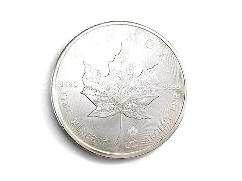 1oz 2006 $5 CANDIAN FINE SILVER COIN