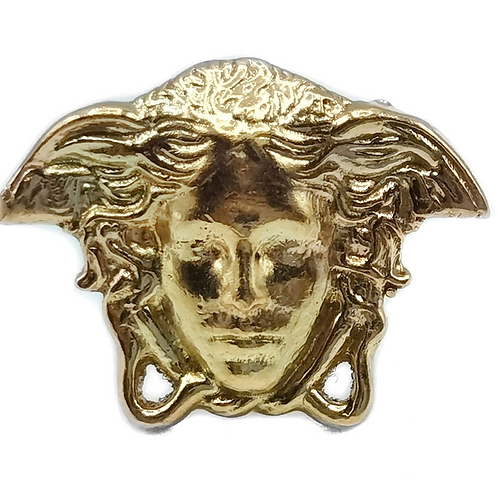 14K YELLOW GOLD MEDUSA EARRING