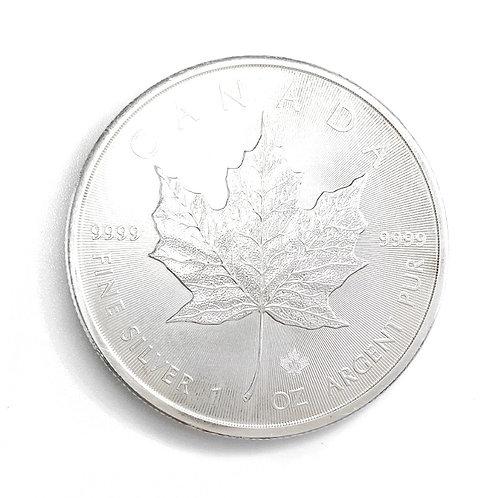 1oz $5 1989 CANADIAN FINE SILVER COIN