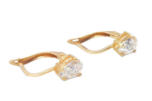 10K YELLOW GOLD EARRINGS