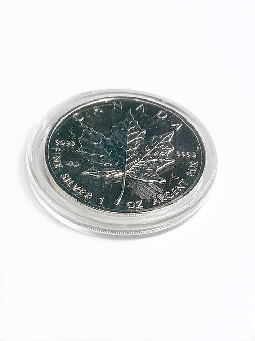 1oz $5 1992 FINE SILVER CANDIAN COIN