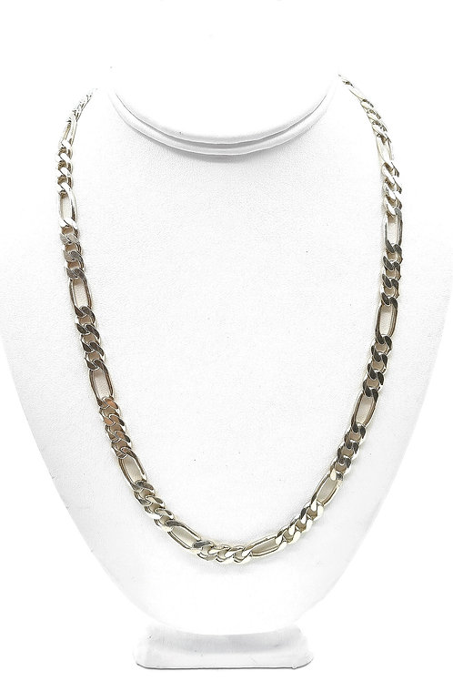 925 STERLING SILVER FIGARO STYLE MEN CHAIN