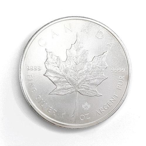 1oz $5 1988 CANDIAN FINE SILVER COIN