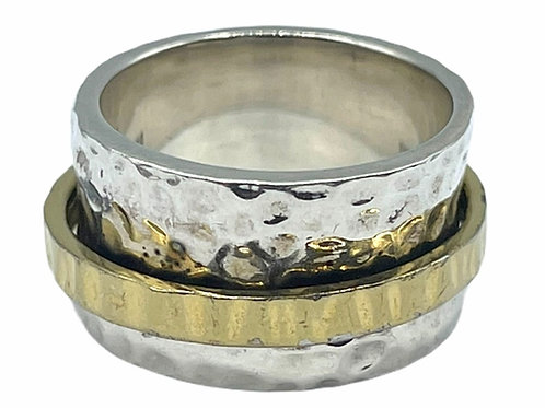 925 STERLING SILVER RING - size 7.75