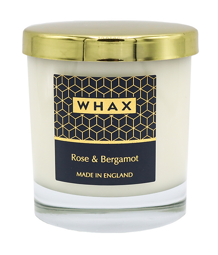 WHAX Rose & Bergamot Home Candle