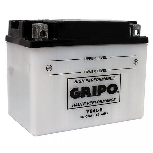 Batterie haute-performance YB4L-B Gripo