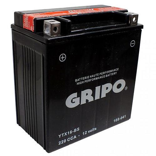 Batterie MF sans entretien YTX16-BS Gripo
